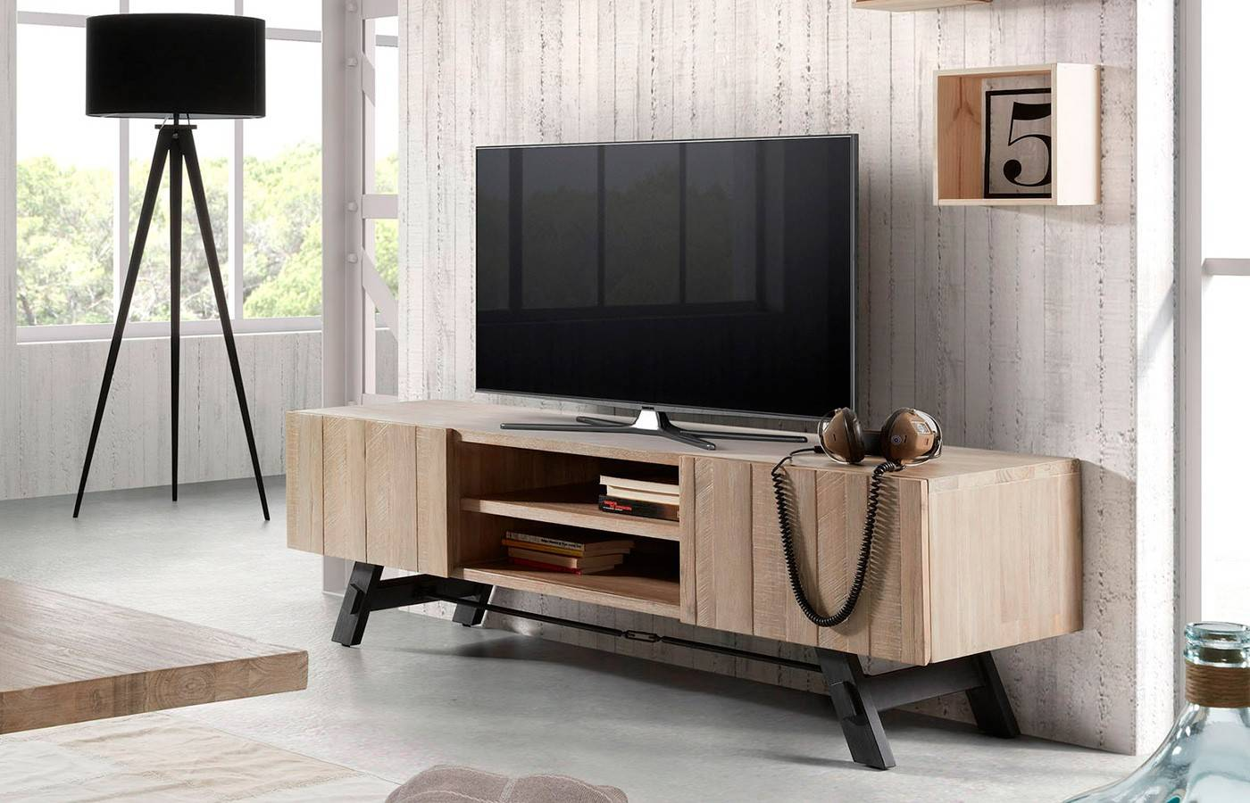 Mueble tv forest super dismobel for Mueble tv multimedia