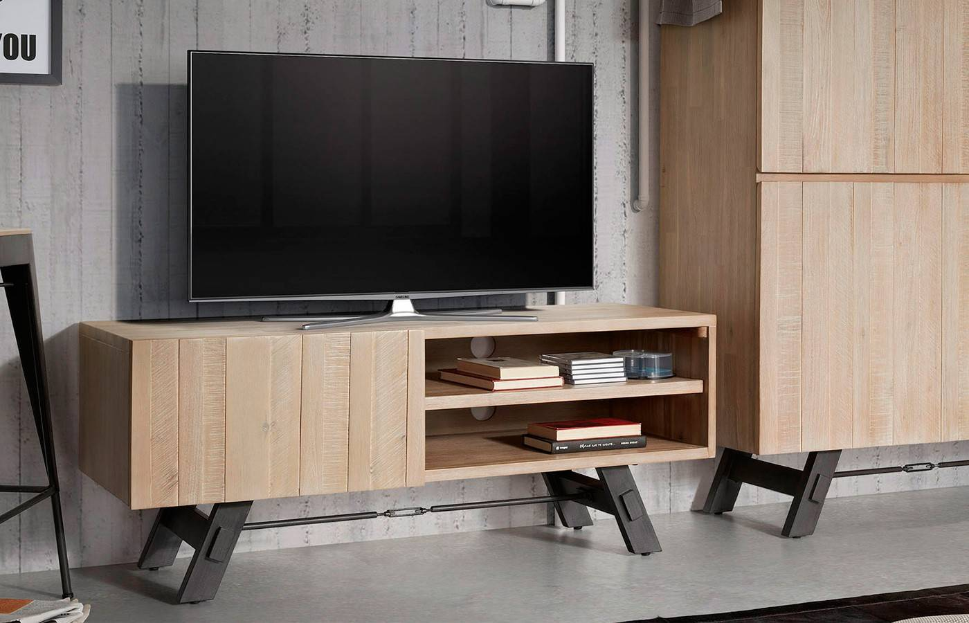 Mueble tv forest dismobel for Mueble tv multimedia