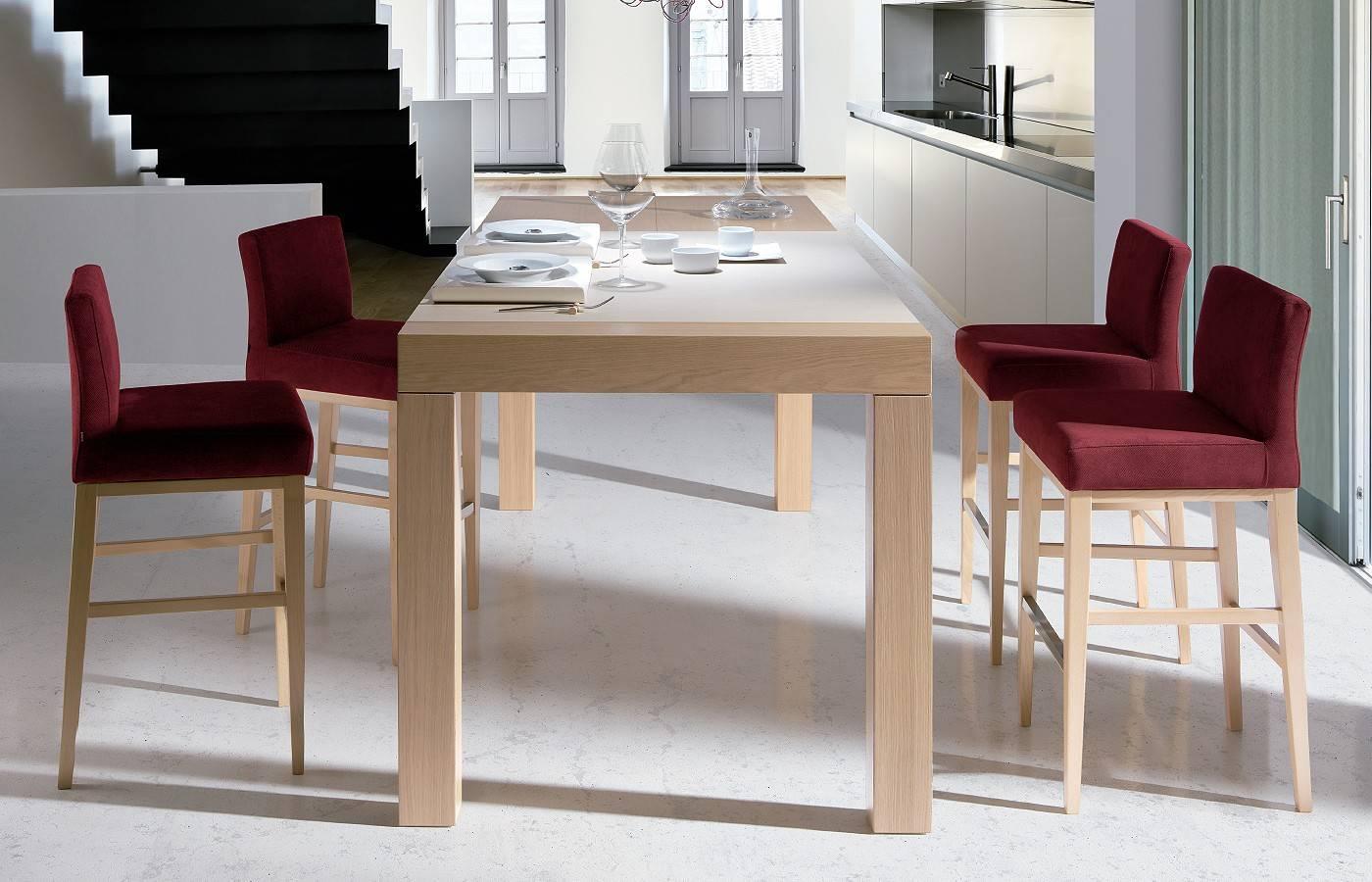 Conjunto mesa alta taburetes slatten dismobel - Mesa alta comedor ...