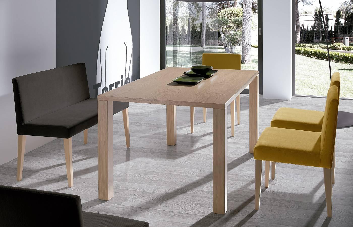 Conjunto mesa sillas markkina dismobel for Conjunto sillas comedor