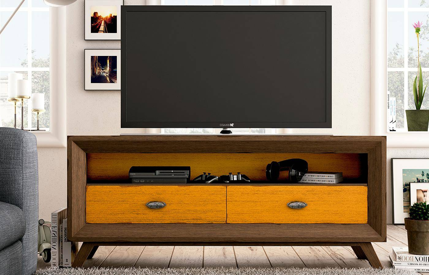 Mueble tv iton dismobel for Mueble tv multimedia
