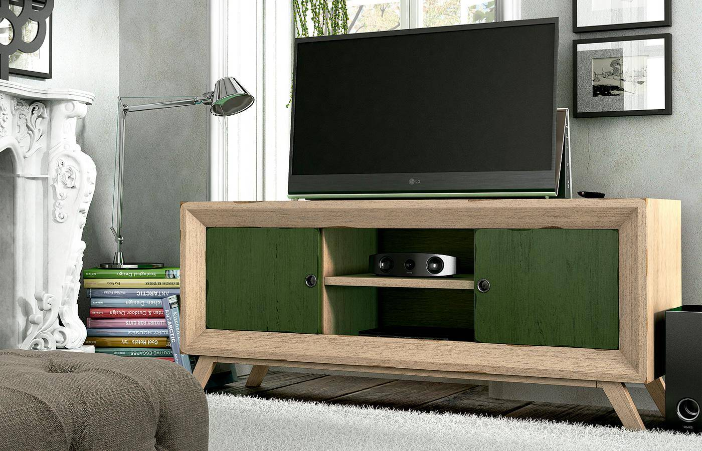 Mueble tv sorum dismobel for Mueble tv multimedia