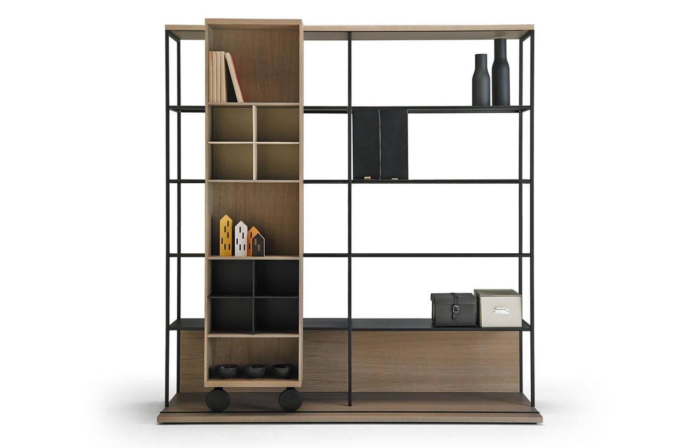 Librerias estanterias modernas estantera de la biblioteca for Librerias salon baratas