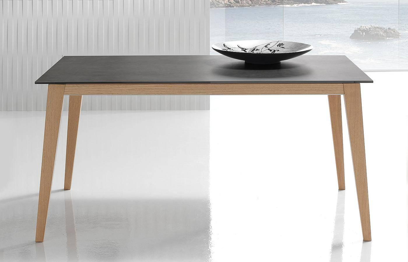 Mesa de comedor oko porcel nico dismobel for Mesas de comedor grandes