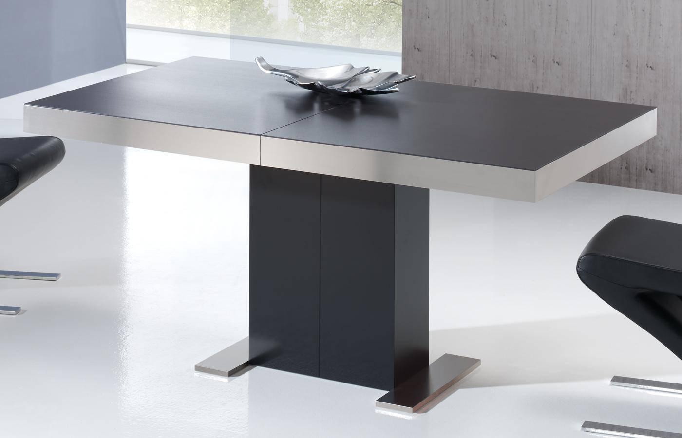Mesa de comedor kaly porcel nico dismobel - Mesas comedor cuadradas extensibles ...