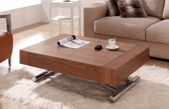 Mesa de centro transformable Melisa