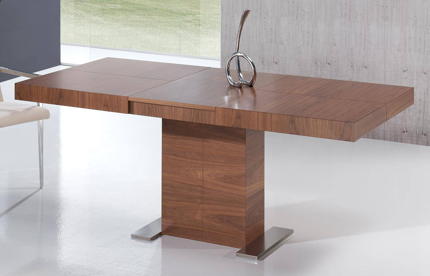 Mesa de comedor kaly madera dismobel for Mesas de comedor rectangulares de madera
