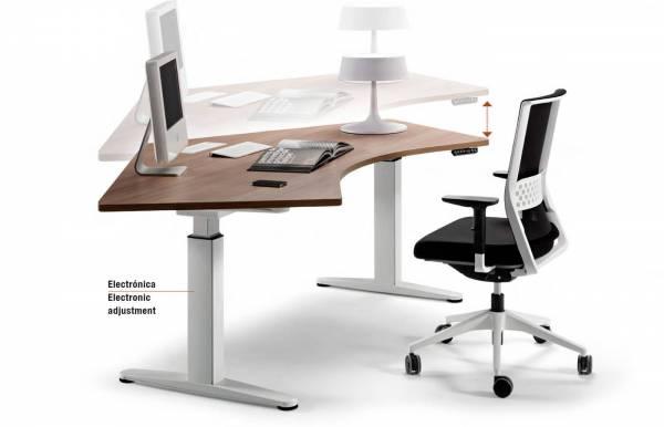 Mesa de trabajo Mobility individual 120º