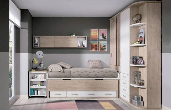 Habitación infantil juvenil con compacto Abbie