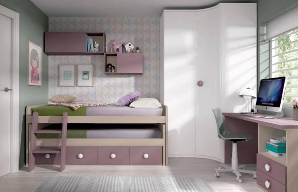 Habitación infantil juvenil con compacto Nome