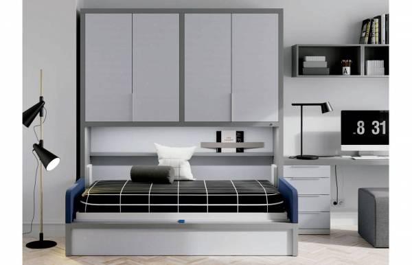 Habitación infantil juvenil con cama abatible Met