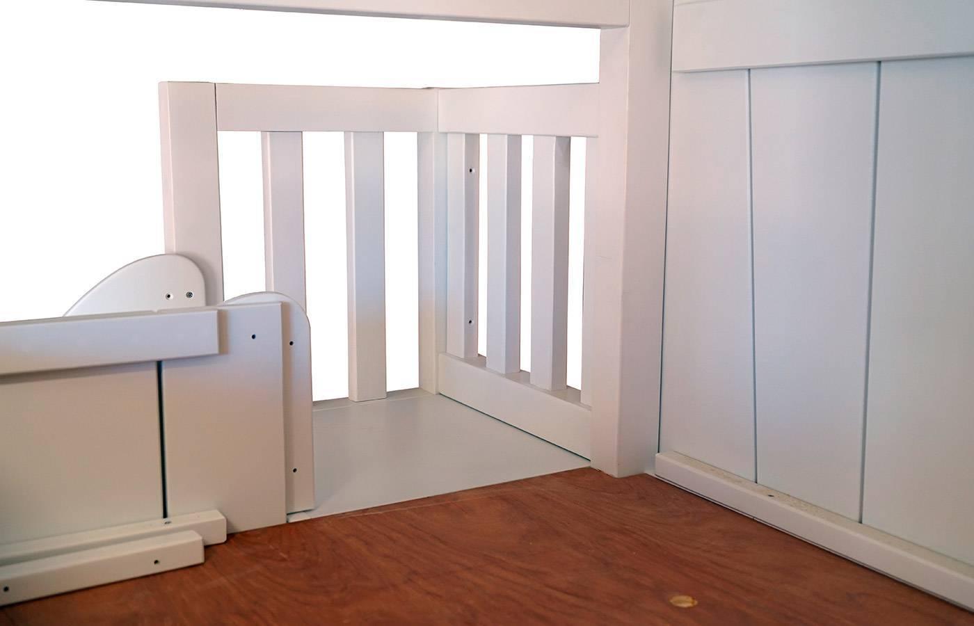 litera casita con tobog n de mathy by bols dismobel. Black Bedroom Furniture Sets. Home Design Ideas