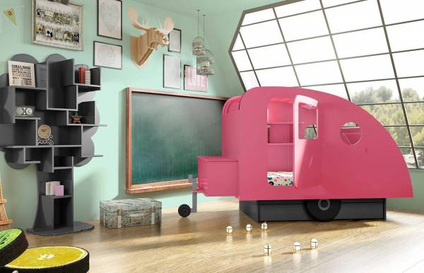Cama caravana de Mathy by Bols