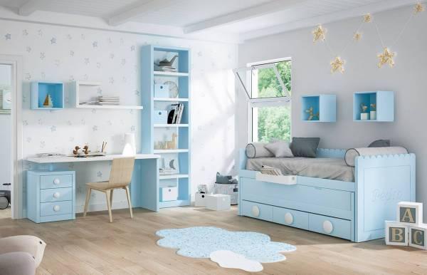Habitación infantil juvenil con compacto Kids 17