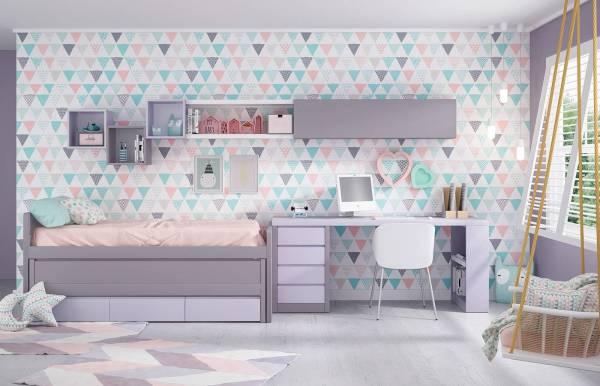 Habitación infantil juvenil con Compacto Kids 19