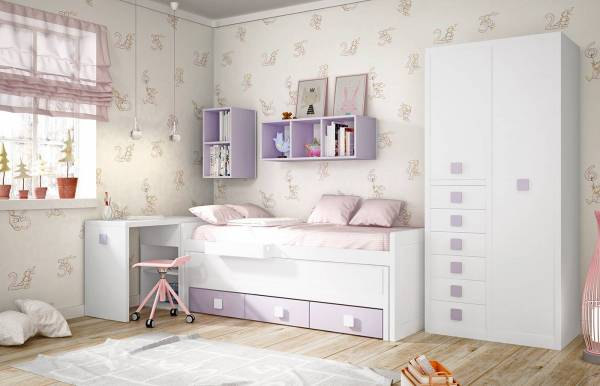 Habitación infantil juvenil con Compacto Kids 20