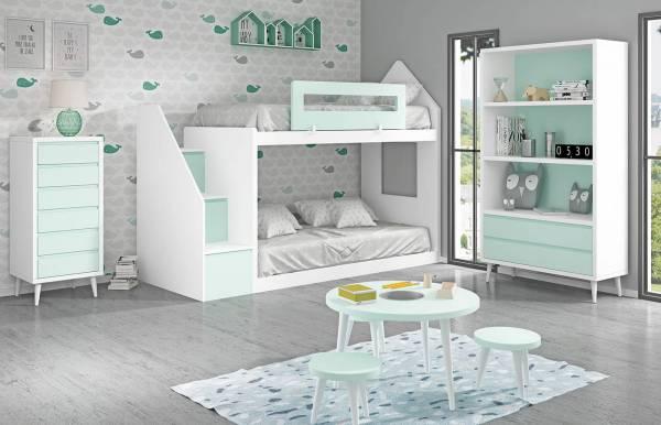 Habitación infantil con litera Kids 02