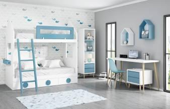 Habitación infantil con litera Kids 01