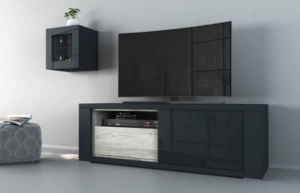Mueble TV Claudia Azul m2