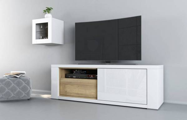 Mueble TV Claudia Blanco m2