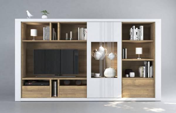 Mueble de salón Claudia Blanco XL