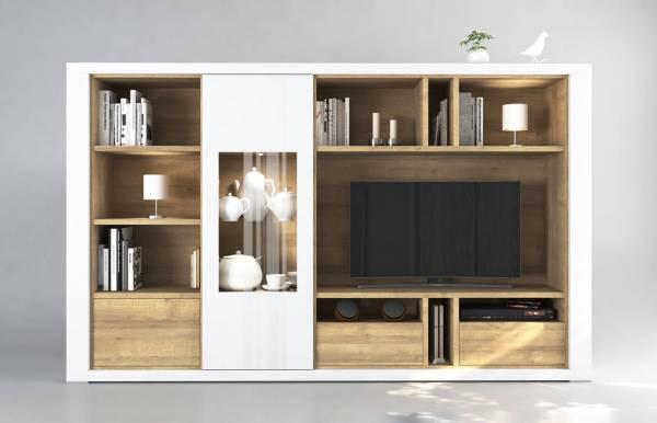 Mueble de salón Claudia Blanco M