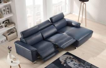 Sofá con chaiselongue Bemus de Torresol