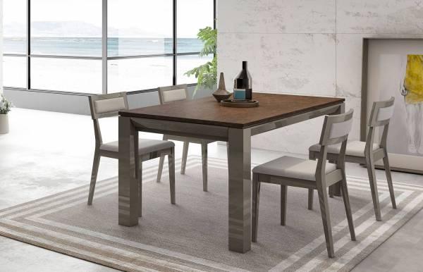 Mesas de comedor extensibles rectangulares y cuadradas - Dismobel