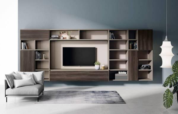 Composición de salón mueble TV AddLiving 112 de Lagrama