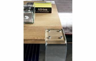 Mesa de comedor Siviglia Vetro de AltaCorte