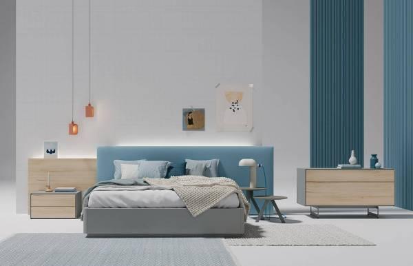 Dormitorio Plane tapizado 38-39 de Lagrama