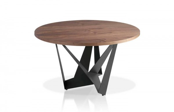 Mesa de comedor redonda fija modelo 1046 de...