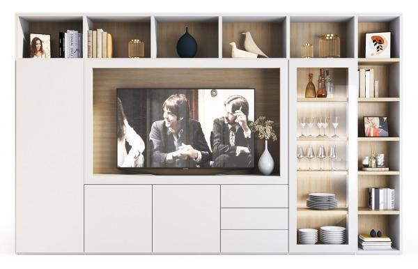 Compacto de salón Qubic 2.0 modelo 09 de Piñero...