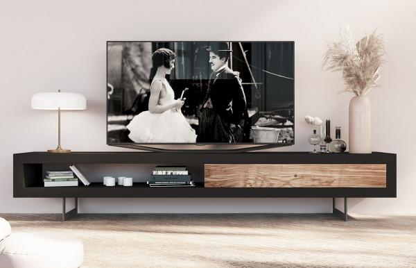 Mueble TV Qubic 87 de Piñero y Cabrero