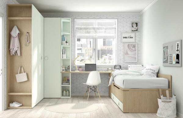 Habitación juvenil con cama nido Mood 19 de Ros