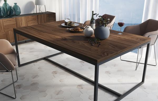 Mesa de comedor Qubic 2.0 modelo 100 de Piñero...
