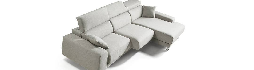 Sofás con asientos deslizantes