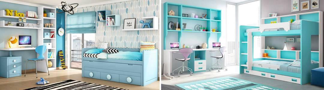 Dormitorios juveniles online habitaciones infantiles for Muebles de cuartos infantiles