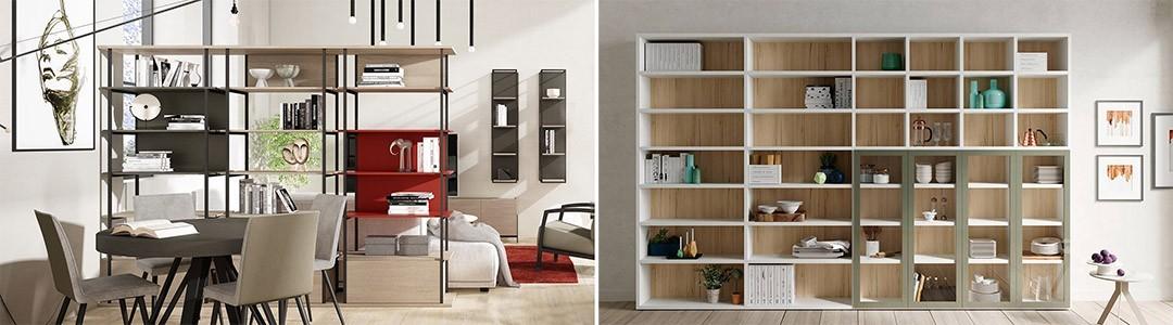 Librerías, estanterías