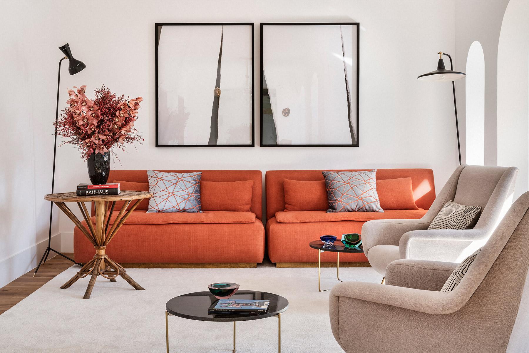 Laura Gärna crea un espacio contemporáneo lleno de piezas antiguas, arte y diseño en el madrileño barrio de Salamanca