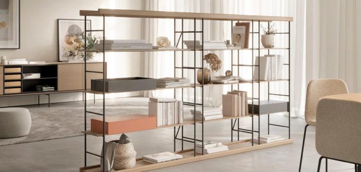Treku presenta el nuevo sistema de estanterías modulares Bost diseñado por Yonoh