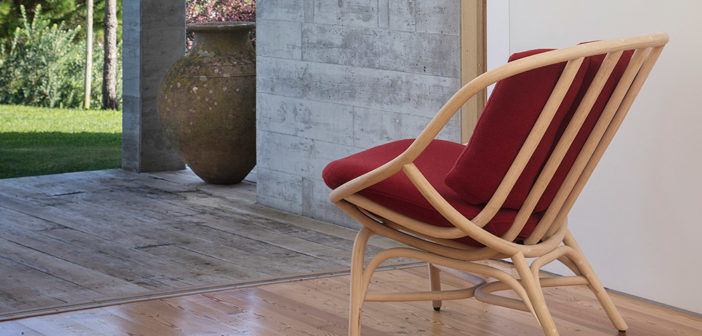 El estudio MUT diseña para Expormim una nueva versión de Armadillo, un clásico del mobiliario en rattan