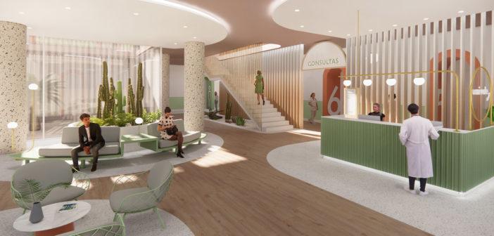 Nayra Iglesias propone un nuevo enfoque para los espacios hospitalarios con este proyecto para una clínica privada en Gran Canaria