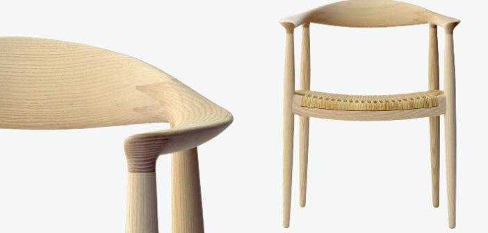 The Round Chair, creada por Hans J. Wegner en 1949 es una de las piezas de mobiliario danesas más famosas