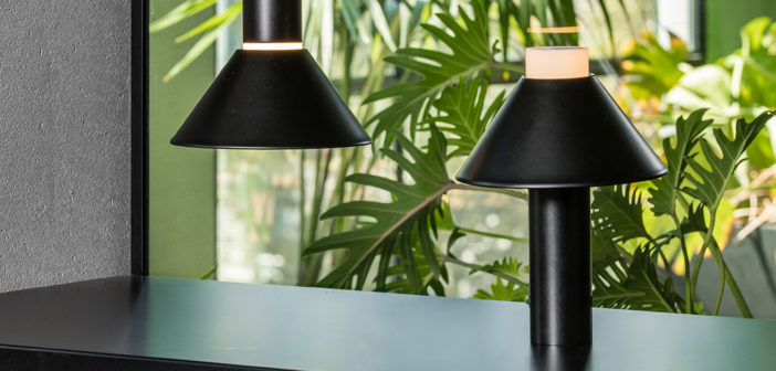Fuji es la nueva luminaria portátil creada por Isaac Piñeiro para Faro Barcelona