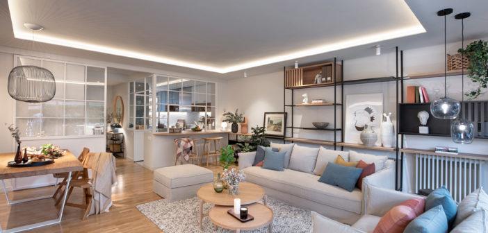 Egue y Seta diseña una vivienda en San Cugat adaptada a la nueva realidad con espacios que permiten el trabajo en casa y la convivencia en el hogar