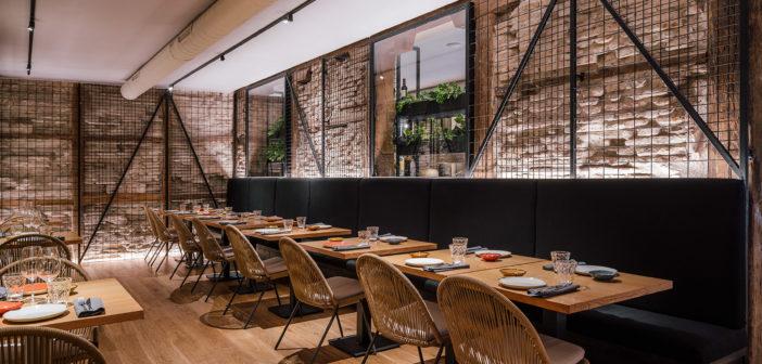 La Vaca y la Huerta, un nuevo espacio gastronómico en la madrileña calle Recoletos, diseñado por Zooco Estudio