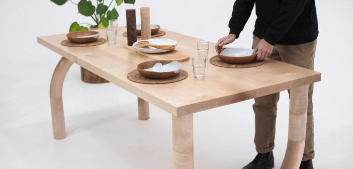Diseño artesanal en madera con acento británico de Forge Creative, que te enamorará