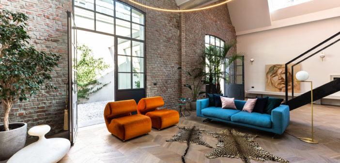 Una mezcla de historia y modernidad da vida a este loft diseñado por los arquitectos milaneses Mingotti y Giordano