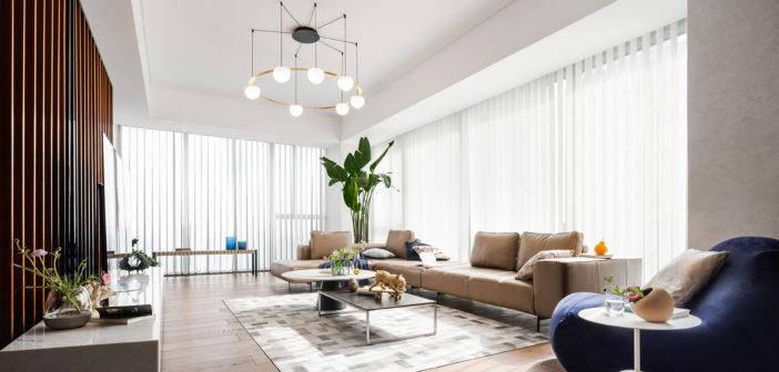 Nahtrang diseña Circ para Estiluz, una colección de lámparas de suspensión modernas y únicas ideales para grandes espacios